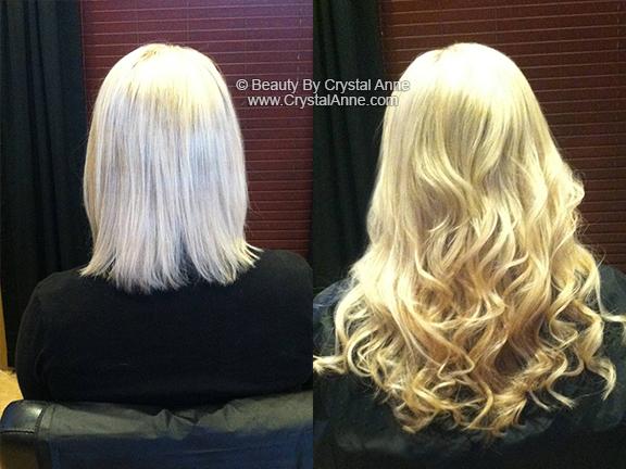Long Blonde Hair Hairdreams Hair Extensions Houston