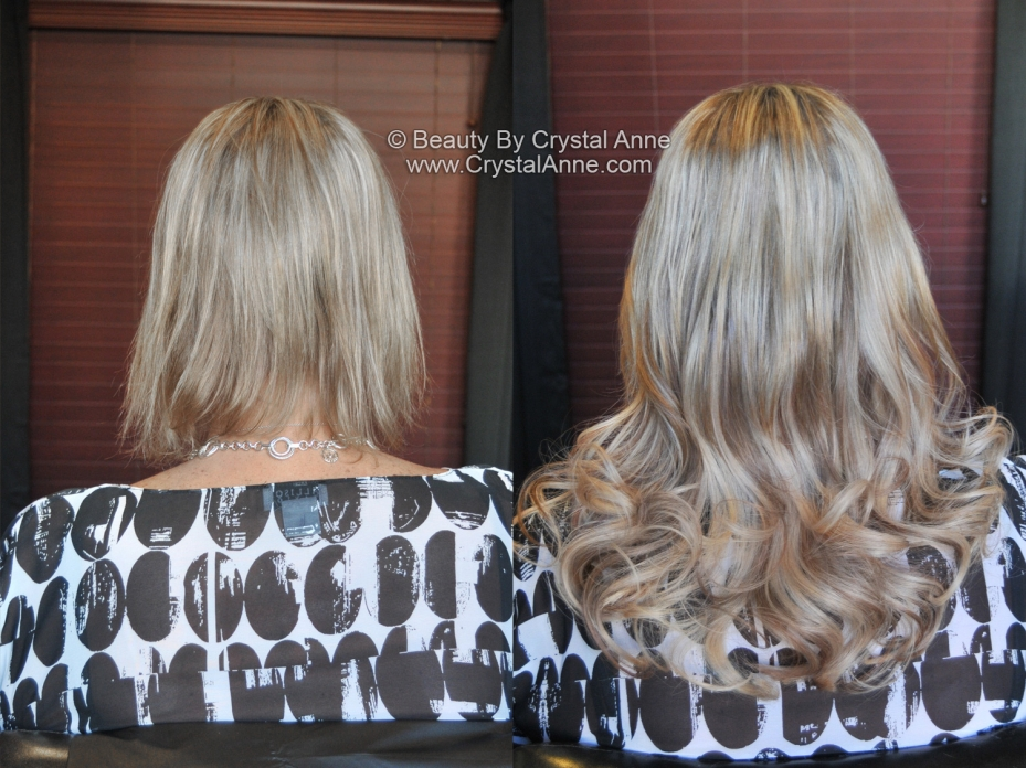 Before And After Hair Extensions Photos Houston Hair Extension Salon