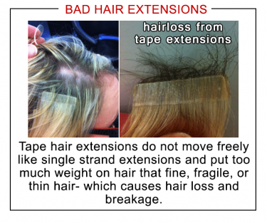 Hair extension comparison houston hair extension specialist bad hair extensions great lengths hair extensions houston hairlocs hair extensions houston damage pmusecretfo Choice Image
