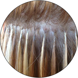The best hair extensions for fine hair hairdreams hair extensions view the process pmusecretfo Images