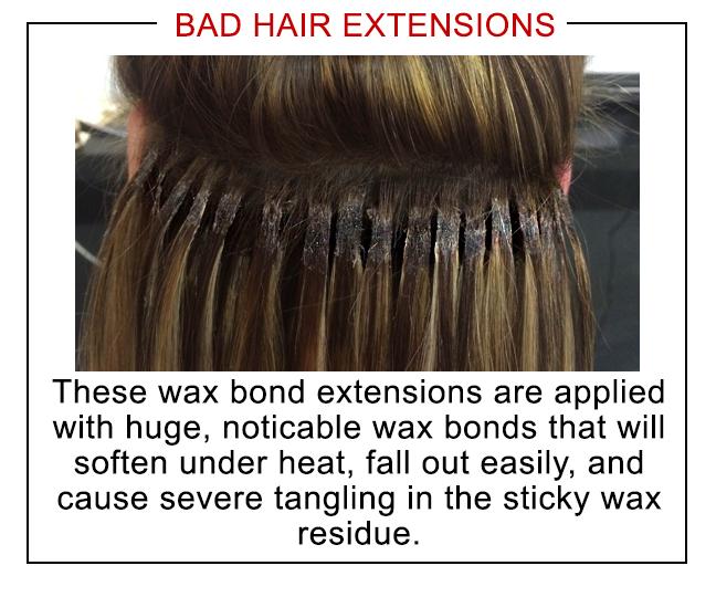 Bonding extensions gerat