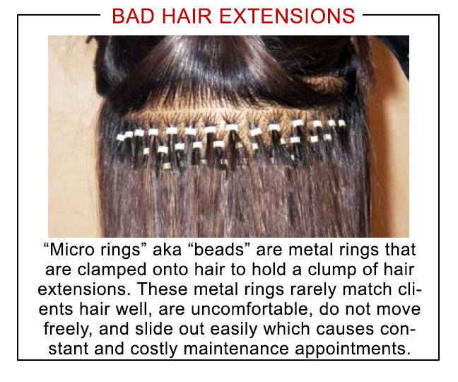 Hair Extension Comparison | Houston Hair